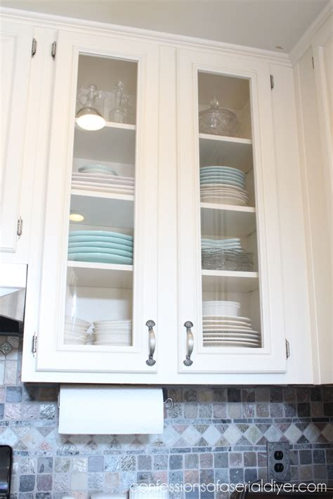 window pane kitchen cabinet doors how to add glass to cabinet doors confessions of a