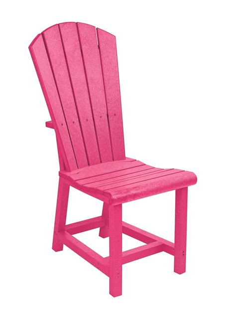 generations fuschia adirondack dining side chair from cr