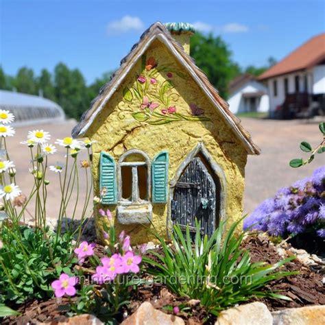 120 Best Images About Mini Garden Cottages On Pinterest