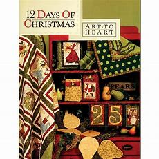 12 Days Of Christmas Quilt Book By Art To Heart Ebay