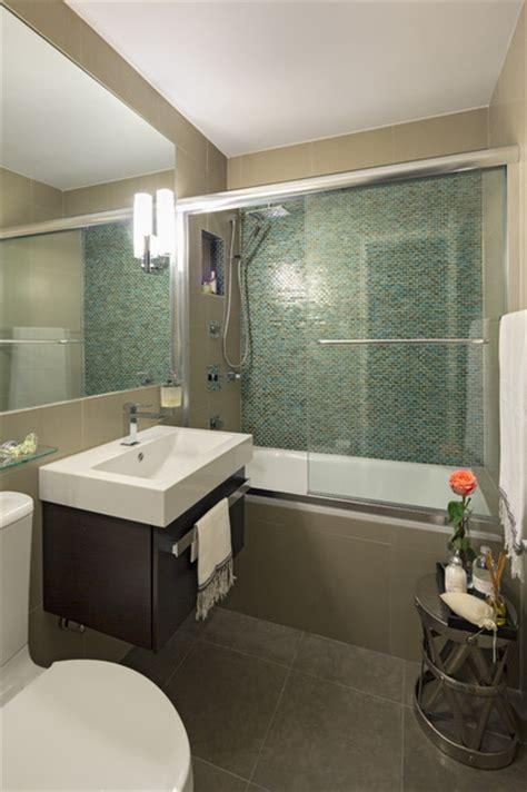 apartment renovation  manhattan modern bathroom