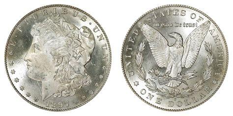 1897 S Morgan Silver Dollars