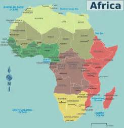 Best Photos Of Africa Map With Country Only Black And