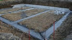 le gros oeuvre d39une maison individuelle With comment faire des fondations pour une maison
