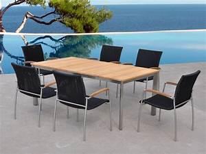Ensemble Table Et Chaise De Jardin : ensembles table et chaises de jardin am nagement ~ Dailycaller-alerts.com Idées de Décoration
