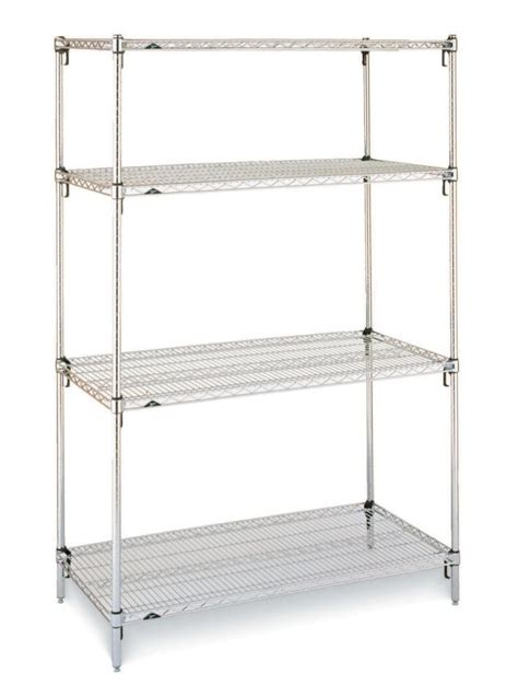 chrome wire shelving labrepco stainless steel shelving