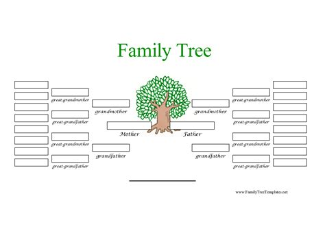 photo family tree template family tree template simple family tree template 25 free