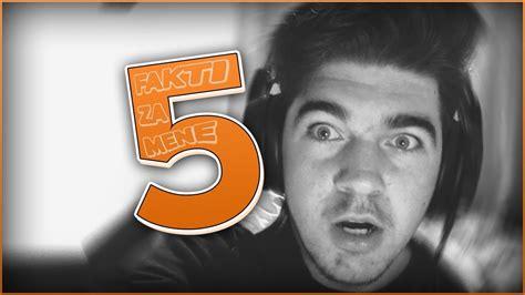 USHTE 5 FAKTI ZA MENE - YouTube