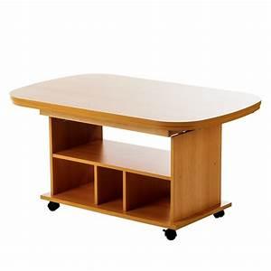 Table Basse Reglable Hauteur : table basse r glable en hauteur ~ Carolinahurricanesstore.com Idées de Décoration