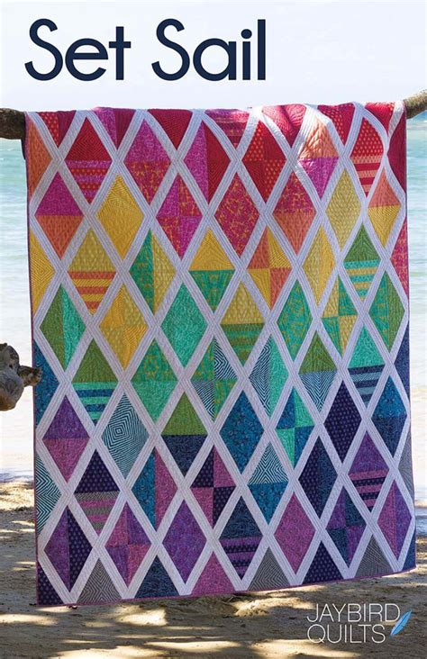 jaybird quilts pattern set sail