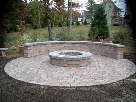 How To Create Fire Pit On Yard Simple Backyard Fire Pit