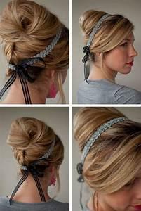Haarband Für Dutt : 24 herrliche ideen f r effektvolle frisuren mit haarband frisuren pinterest dutt frisur ~ Frokenaadalensverden.com Haus und Dekorationen