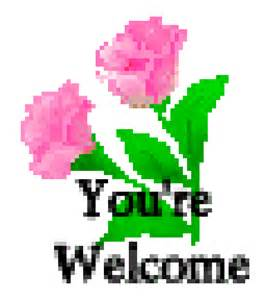 You Are Welcome Sign Clip Art