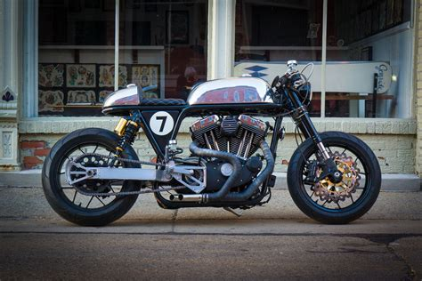 Sportster Motorcycles : Sportster Cafe Racer By Ardent Motorcycles