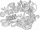 Sewing Coloring Embroidery Machine Colouring Urban Wicked Threads Quotes Adult Urbanthreads Quote Thread sketch template