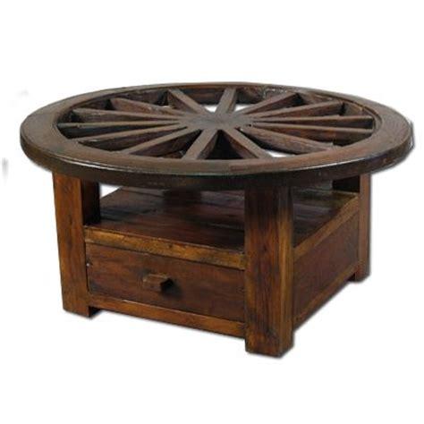 wagon wheel coffee table wagon wheel coffee table diy pinterest