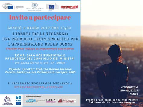 Sala Polifunzionale Della Presidenza Consiglio Dei Ministri by Libert 224 Dalla Violenza Premessa Per Empowerment Femminile
