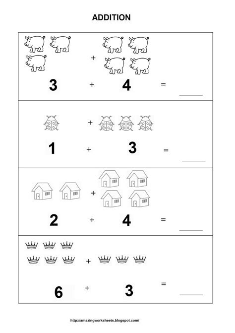 images  adding objects worksheets adding