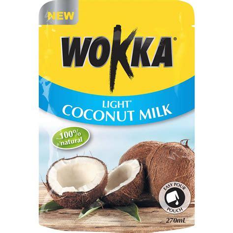 light coconut milk wokka light coconut milk 270ml woolworths
