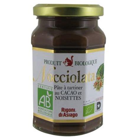 pate a tartiner nocciolata nocciolata pate a tartiner bio au cacao et noisettes 270 g tous les produits miels p 226 tes 224