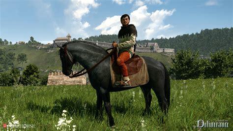 deliverance kingdom come horse warhorse rpg onlysp medieval studios open castle