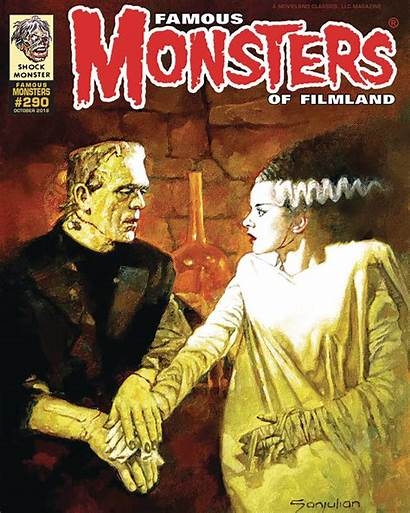 Monsters Filmland Famous Bride Sanjulian Frank Annual