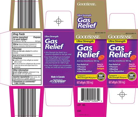 Gas And Bloating Relief Medication