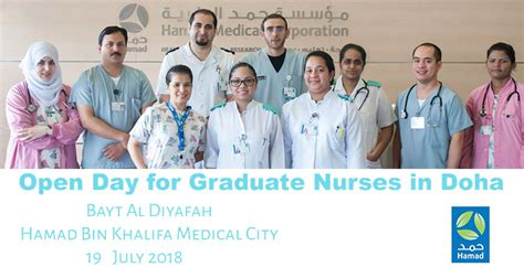 Hmc To Hold Recruitment Event For Qatar-based Nurses And