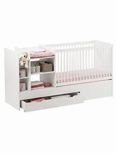 Lit Avec Tiroir De Rangement : lit bebe avec tiroir rangement ~ Teatrodelosmanantiales.com Idées de Décoration