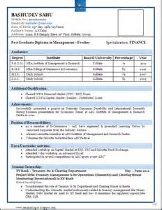 100 resume templates for freshers in b pharmacy