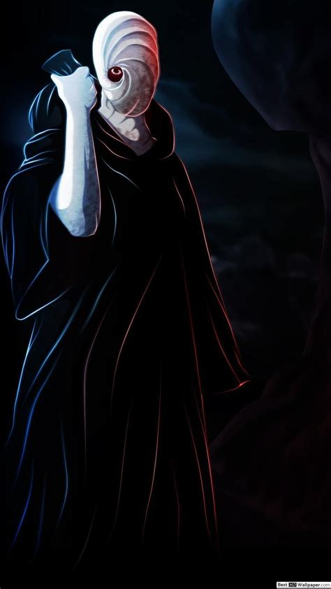 obito mask wallpapers wallpaper cave