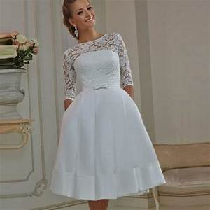 plus size informal wedding dresses with sleeves pluslook With plus size informal wedding dresses