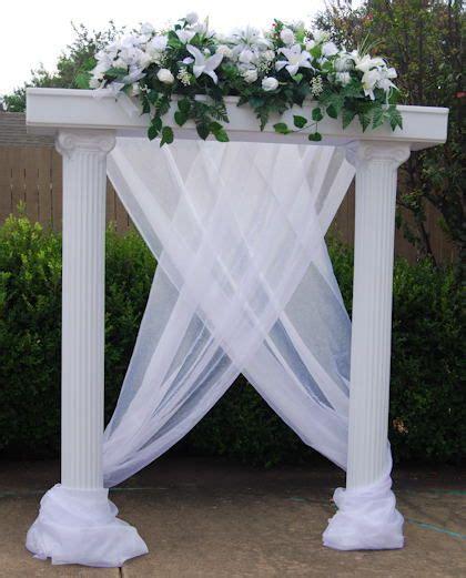 decorating columns wedding column decorations columns for wedding decorations wedding ideas pinterest