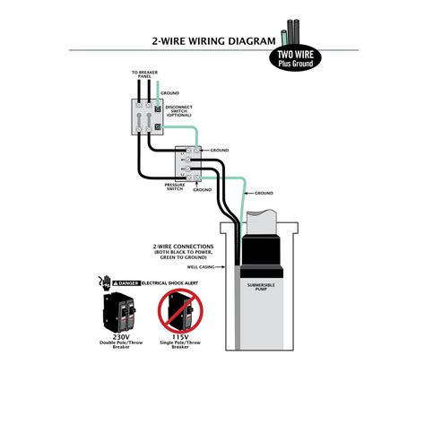 3 wire submersible wiring diagram diagram