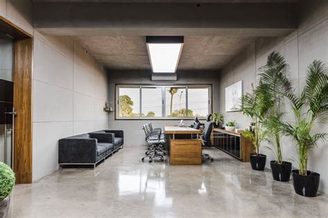 real estate office design space with minimal and contemporary approach real estate Contemporary