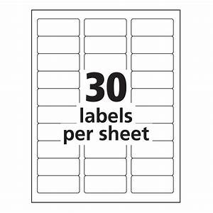 Generous laser labels template ideas resume ideas for Avery 2 x 3 label template