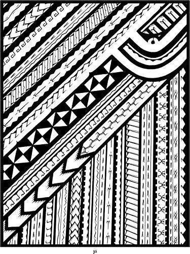 Tattoo: A Coloring Book of Polynesian Art by Anthony J. Tenorio - Tattoo Forum