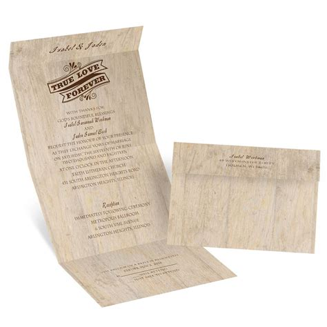 Choose Your Design Rustic Seal And Send Invitation