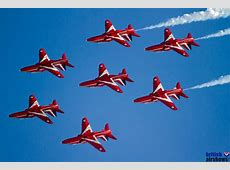 Photos of the Vulcan and Red Arrows from Hastings Airshows