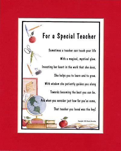 quotes or poems for teachers quotesgram 797 | 51WI0z1ZMRL. SL500