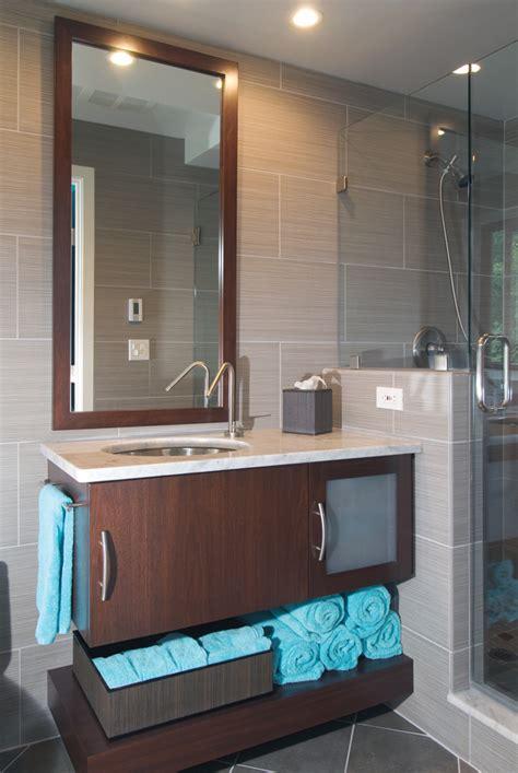 modern guest bathroom remodel remodeling