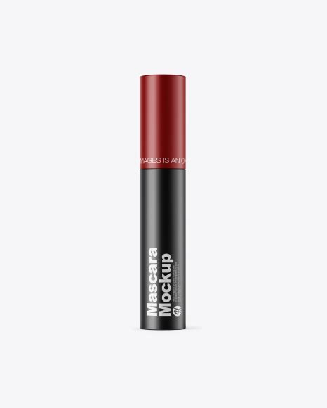 Apply your design ideas on this mockup of opened сlear mascara tube in front view.the color of the filling is not editable. 115+ Best Mascara Mockup Templates | Free & Premium