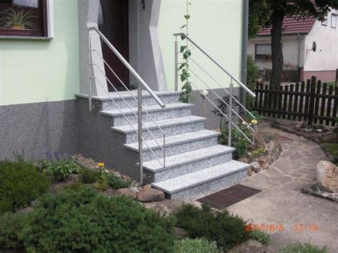 Granit Für Außentreppe by Geschlossene Au 223 Entreppen