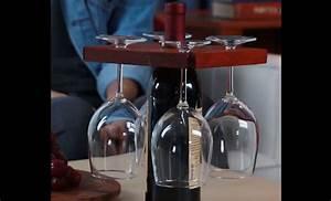 Porte Bouteille Vin Original : cadeau bois fabriquer un porte bouteille de vin original ~ Dode.kayakingforconservation.com Idées de Décoration
