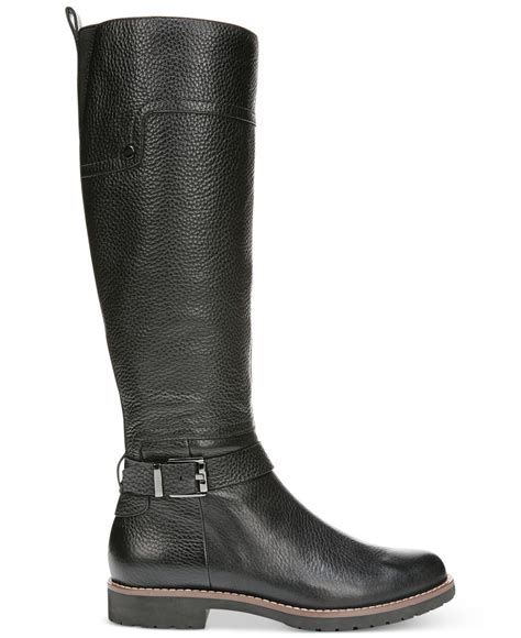 franco sarto chandler tall boots black lyst