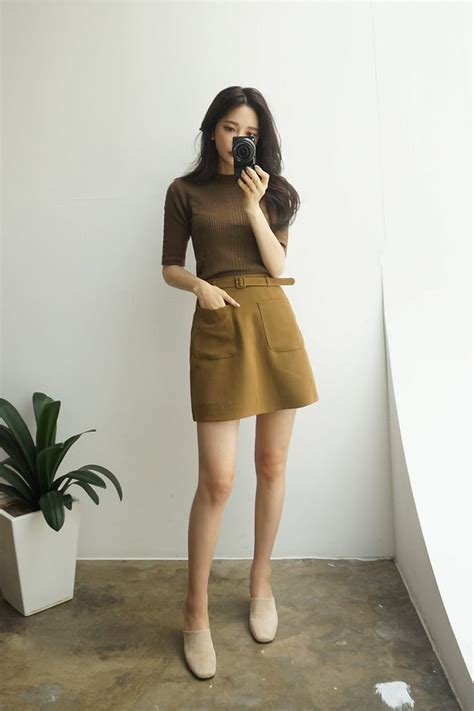 The 25+ best Brown fashion ideas on Pinterest | Outfits Fashion ideas and Falda fruncida ...