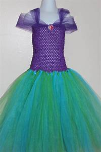 Little Mermaid Ariel inspired tutu dress Perfect for