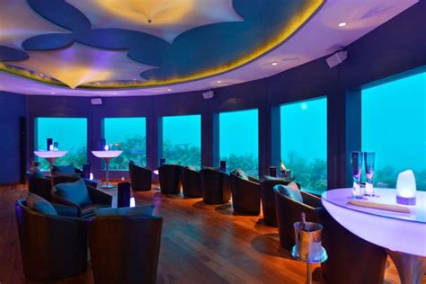 Subsix In Maldives Is The First Ever Underwater Club