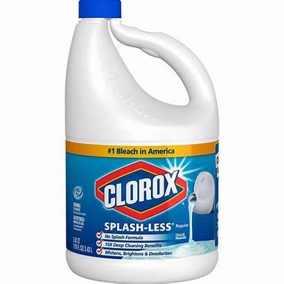 Clorox Bleach Splash Regular Oz Bottle Less