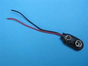50pcs 9 Volt Battery Connector 9v Snap Clip Lead Wire
